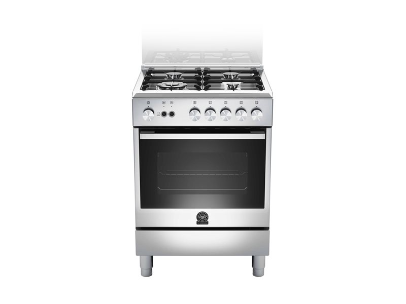 60 4-burners, Gas Oven Gas Grill CX | Bertazzoni La Germania - Stainless